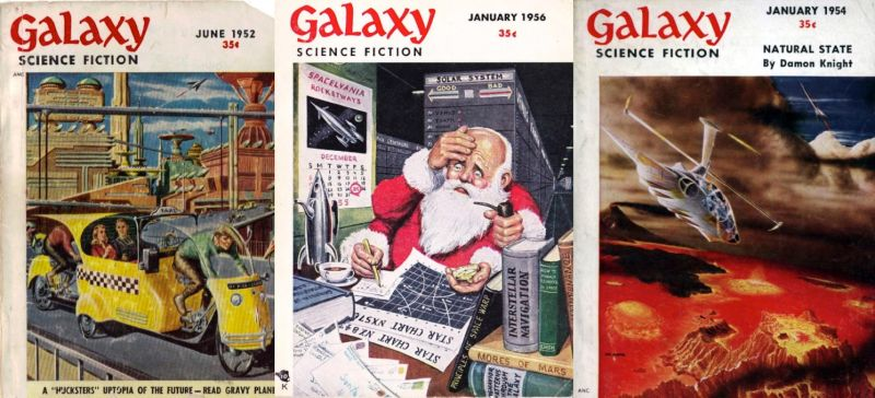 Galaxy: Vintage Scifi Magazine Now Free Online